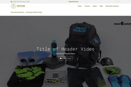 demo bloc:Header Video